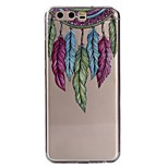 Case For Huawei P10 Lite P10 Transparent Pattern Back Cover Dream Catcher Feathers Soft TPU for Huawei P10 Lite Huawei P10 Huawei P9 Lite