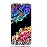 Case For Huawei P9 Lite P8 Lite (2017) Cover Plating IMD Pattern Back Cover Case Mandala Lace Printing Hard TPU