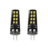 2pcs 3W G4 LED à Double Broches 16 diodes électroluminescentes SMD 2835 Blanc Chaud Blanc 200lm 3000-3500  6000-6500K DC 12V