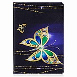 For iPad 10.5 Case Cover Card Holder Wallet with Stand Flip Pattern Magnetic Full Body Case Butterfly Hard PU Leather for Apple iPad pro