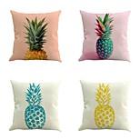 набор из 4 тропических ананаса фрукты наволочки крышка творческий наволочка 45 * 45 см
