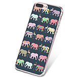 For iPhone X iPhone 8 Case Cover Ultra-thin Pattern Back Cover Case Tile Elephant Soft TPU for Apple iPhone X iPhone 8 Plus iPhone 8