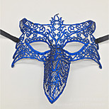 Недорогие -сексуальный женщин черный кружевной маскарад Хэллоуин маски halloween prop косплей аксессуары