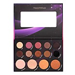 14 Eyeshadow Palette Dry Matte Shimmer Mineral Eyeshadow palette Daily Makeup Halloween Makeup Party Makeup Fairy Makeup Cateye Makeup