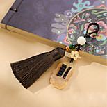 Bag / Phone / Keychain Charm Abacus Crystal / Rhinestone Style Tassel Cartoon Toy Polyester Nylon Chinese Style 14CM