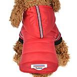 Собака Толстовки Одежда для собак На каждый день Английский Серый Красный