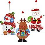 Наклейки Орнаменты Снеговики Santa Праздник Новогодняя тематикаForПраздничные украшения