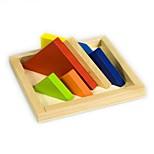 Набор для творчества Конструкторы Обучающая игрушка Пазлы Игрушки Прямоугольный Куски Мальчики Девочки Подарок