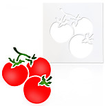 Diy Tomato Cake Mold Plastic Spraying Decoration Tomatoes Decoration Mold Baking Tools