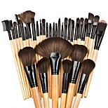 32pcs Makeup Brush Set Blush Brush Eyeshadow Brush Brow Brush Eyeliner Brush Eyelash Brush Fan Brush Powder Brush Foundation Brush Nylon