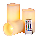YouOKLight 1Set 1W 12 Color LED Smokeless Flickering Electronic Candles Light Batteries not Included