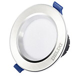 1Pc 5W Led Downlight Celing Light Dimmable Warm Yellow Warm White/White AC220V 3000/4000/6500K Size Hole 100mm