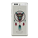 Case For Huawei P9 P10 Transparent Pattern Back Cover Transparent Owl Dream Catcher Soft TPU for Huawei P10 Plus Huawei P10 Lite Huawei