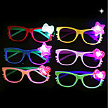 cheap -1PCS Led Glasses Children Glasses Stall Toy Party Decoration Ramdon Color