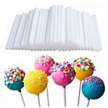 20шт пластиковые трубки присоски палочки для конфеты шоколадный торт леденец popsicle