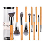 10 Contour Brush Makeup Brush Set Blush Brush Lip Brush Brow Brush Eyeliner Brush Concealer Brush Powder Brush Foundation Brush Synthetic