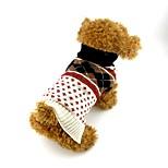 Собака Свитера Одежда для собак На каждый день Английский Бежевый