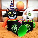 1PC Design Is Random Gift Candy Jar Halloween Pumpkin Pumpkin Cartoon Food Cans wedding Event & Party Supplies Household Children Can Bin Decor Box
