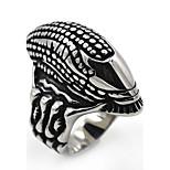 Муж. Жен. Классические кольца Массивные украшения Нержавеющая сталь В форме трубки Бижутерия Назначение Для сцены