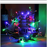 lumières à cordes led 2m 20 lumières aa batteries décoration extérieure fées lumières de noël sans batterie