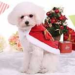 Dog Clothes/Jumpsuit Dog Clothes Casual/Daily Cartoon Red