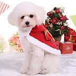 Собака Комбинезоны Одежда для собак На каждый день Носки детские Красный