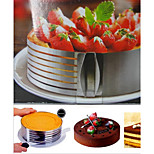 1 Piece Cake Molds Round Cake Stainless steel Baking Tool