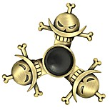 Fidget Spinner Inspired by One Piece Edward Newgate Anime Cosplay Accessories Chrome