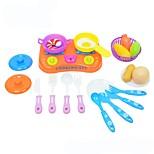 Игрушка кухонные наборы Игрушка Foods Игрушки Продукты питания Мальчики Девочки 21 Куски