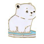 Жен. Броши Бижутерия Животный дизайн Chrismas Сплав Геометрической формы Медведи Бижутерия Назначение Свадьба Офис