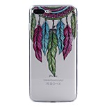 For iPhone X iPhone 8 Case Cover Pattern Back Cover Case Dream Catcher Feathers Soft TPU for Apple iPhone X iPhone 8 Plus iPhone 8 iPhone