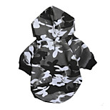 Dog Hoodie Dog Clothes Casual/Daily Geometic Black