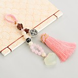Bag / Phone / Keychain Charm Crystal / Rhinestone Style Tassel Cartoon Toy Crystal Polyester Nylon Chinese Style 14CM
