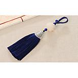 Bag / Phone / Keychain Charm Crystal / Rhinestone Style Tassel Crystal Polyester Metal 13.5CM