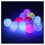 Недорогие -1pcs изменяя цвет водить светильник украшения ночи ночи яблока яблока для подарка детей