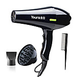 YR-6217YY Electric Hair Dryer Styling Tools Low Noise Hair Salon Hot/Cold Wind