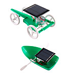 Solar Powered Toys DIY KIT Educational Toy Science & Discovery Toys Toys Square Solar-Powered DIY Unisex Teen Pieces