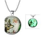 Муж. Жен. Ожерелья с подвесками Бижутерия В форме животных Серебрянное покрытие Симпатичные Стиль Бижутерия Назначение Повседневные