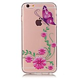 For iPhone X iPhone 8 Case Cover Ultra-thin Pattern Back Cover Case Butterfly Soft TPU for Apple iPhone X iPhone 8 Plus iPhone 8 iPhone 7