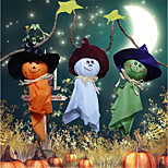 Halloween Decorations Flag Doll Lanyard Cute Pull