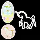 Sugar Craft Unicorn Plastic Fondant Cutter Cake Mold Fondant Mold Fondant Cake Decorating Tools