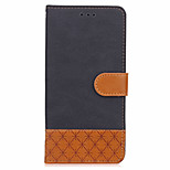 For Case Cover Card Holder Wallet with Stand Flip Embossed Full Body Case Solid Color Hard PU Leather for Huawei Huawei P10