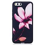 для чехлов крышка рельефный узор задняя крышка чехол цветок мягкий tpu для xiaomi xiaomi красныйmi 4x xiaomi mi 6
