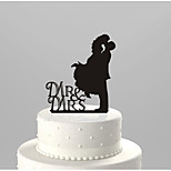 Acrylic Cake Inserts The Bride And Groom Wedding Cake Decorations