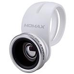 объективы для смартфонов momax 0.6x широкоугольный объектив 15x макрообъектив для ipad iphone huawei xiaomi samsung