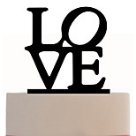 Acrylic Cake Insert Love Cake Decorated Cake Decoration