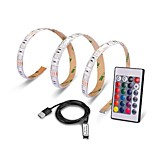 0.5M USB Port Lamp Tape LED Strip Light RGB IP65 Waterproof Ribbon 5050 SMD For TV Background Decorative Lighting Lantern flexible Strip DC5V