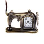 Муж. Жен. Карманные часы Китайский Механические, с ручным заводом Кожа Группа Винтаж Креатив Коричневый