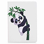 For iPad 10.5 Case Cover Card Holder Wallet with Stand Flip Pattern Magnetic Full Body Case Panda Hard PU Leather for Apple iPad pro 10.5