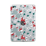 For iPad (2017) Case Cover Transparent Pattern Back Cover Case Transparent Christmas Soft TPU for Apple iPad (2017) iPad Pro 12.9'' iPad